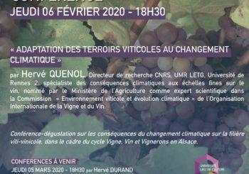 Conférences Vigne, Vin et Vignerons