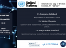 Online mini-symposium for International Day of Women and Girls in Science